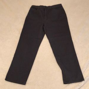 Grey Gloria Vanderbilt Straight Leg Jeans